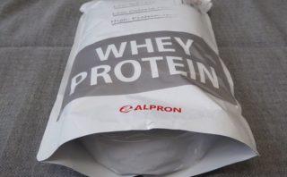 アルプロン WPC ホエイプロテイン ココアミルク パッケージ下