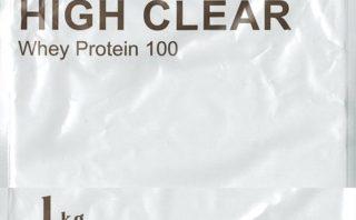 ハイクリアー WPCホエイプロテイン100 プレミアムココア味 パッケージスキャン表
