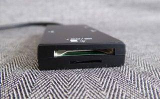 ナカバヤシ Digio2 USB3.0 コンボハブ COM-3SD013BKのカードリーダー