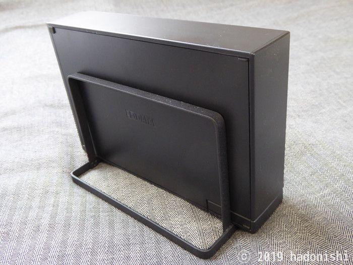 セリアのまな板スタンドを外付けHDDスタンドにした実例