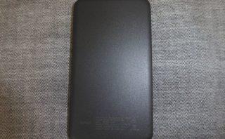 エレコム モバイルバッテリー DE-M09-5000BK 本体裏