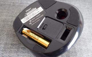 Digio2 MUS-TRLF132 電池をいれたところ