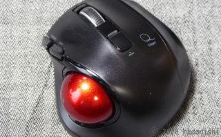 レビュー:手が小さくても使える Digio2 小型無線静音5ボタントラックボール MUS-TRLF132