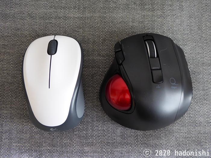 ロジクール マウス M235 との比較