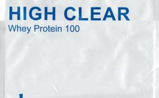 ハイクリアー WPCホエイプロテイン100 あっさりミルク味 パッケージスキャン表