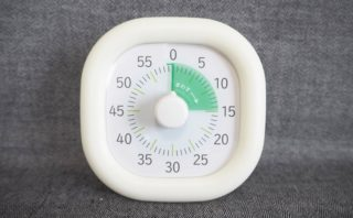 トキ・サポ 時っ感タイマー LV-3062 開封直後にはシールが貼られている