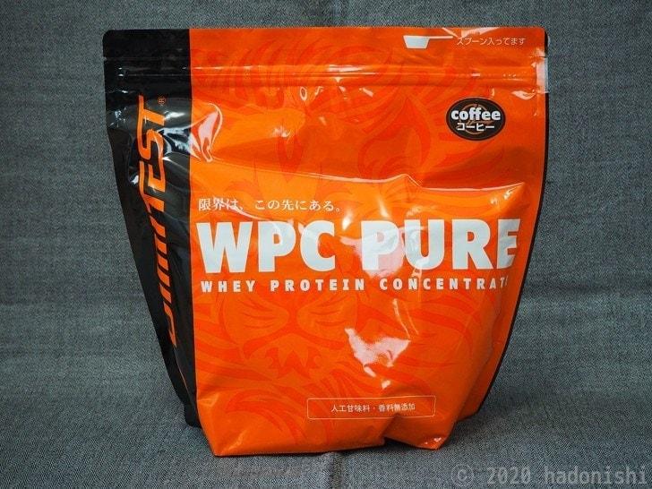 リミテスト ホエイプロテイン WPC PURE コーヒー パッケージ
